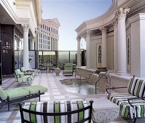 Вилла класса люкс во Caesars Palace