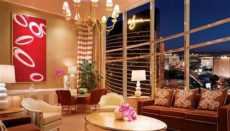 Апартаменты Duplex с тремя спальнями в отеле Encore At Wynn Las Vegas